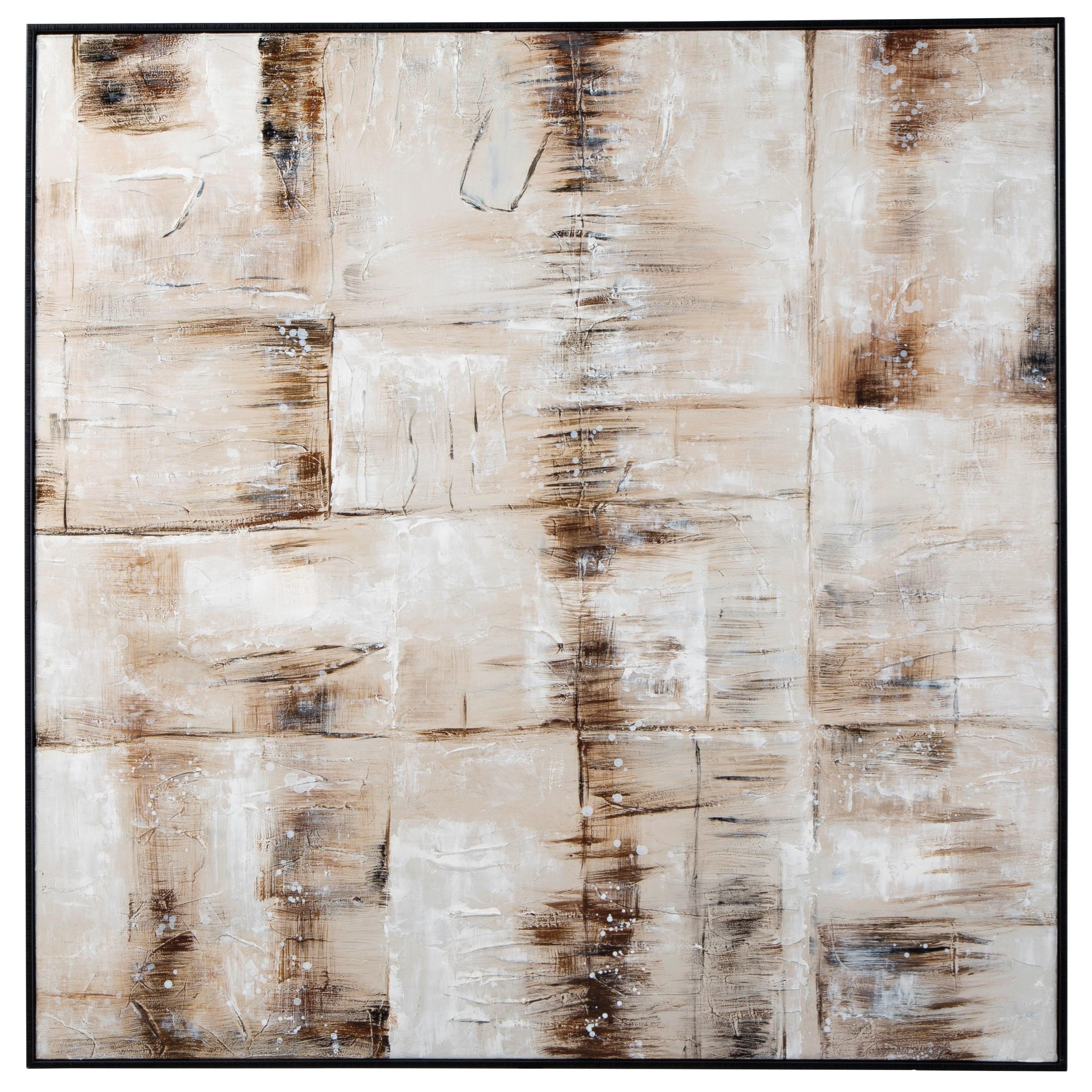 Jovia Tan/Brown Wall Art
