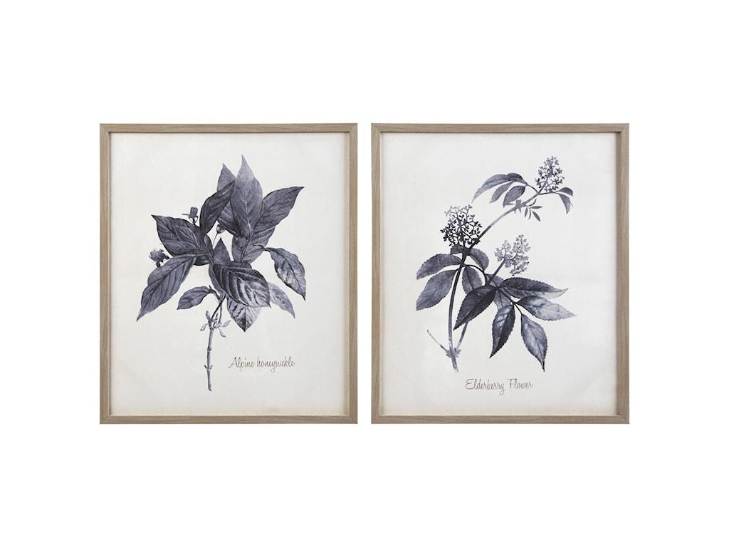 Signature Design by Ashley Wall ArtEfren Blue Wall Art Set