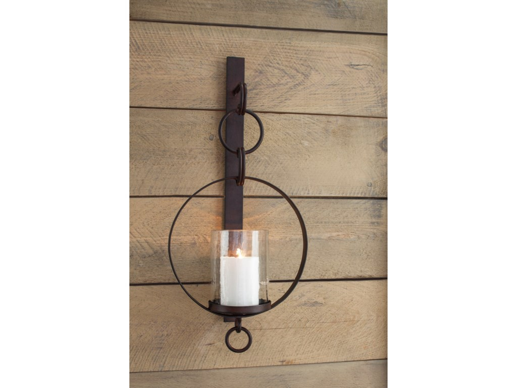 Signature Design by Ashley Wall ArtOgaleesha Brown Wall Sconce