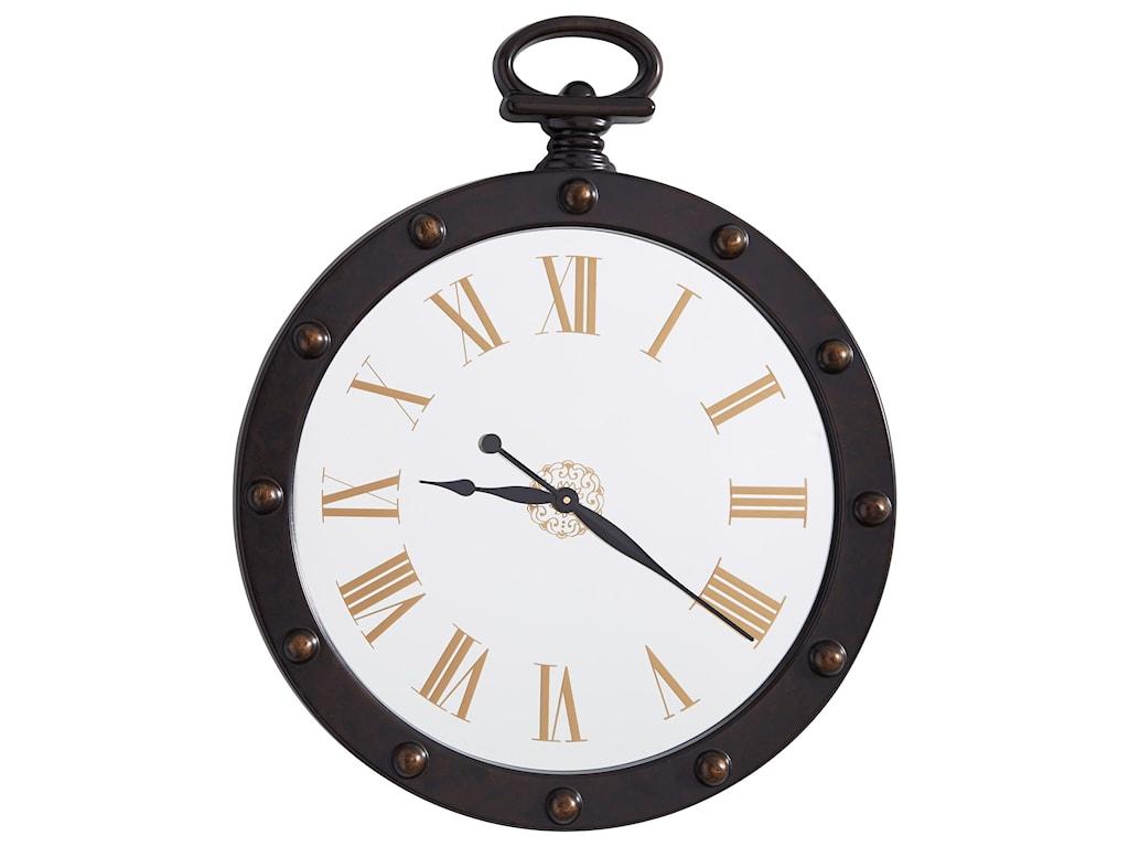 Signature Design by Ashley Wall ArtJuan Brown Wall Clock