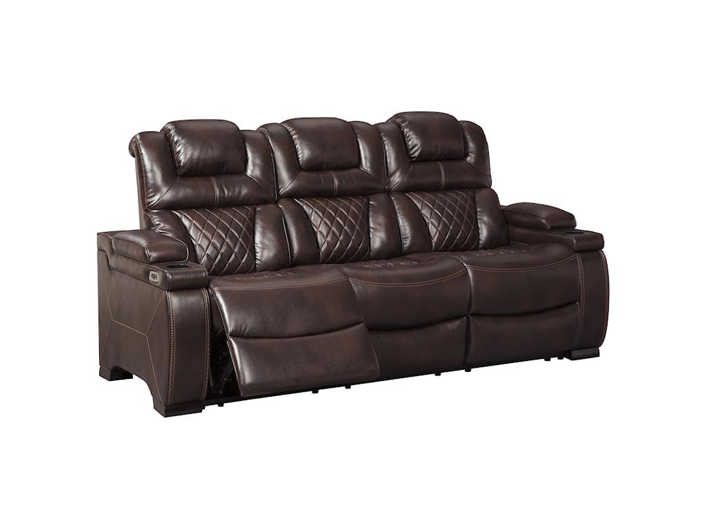 Signature Design by Ashley WarnertonPower Reclining Sofa
