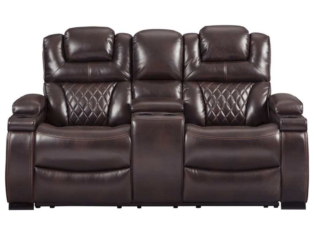 Signature Design by Ashley WarnertonPower Reclining Loveseat