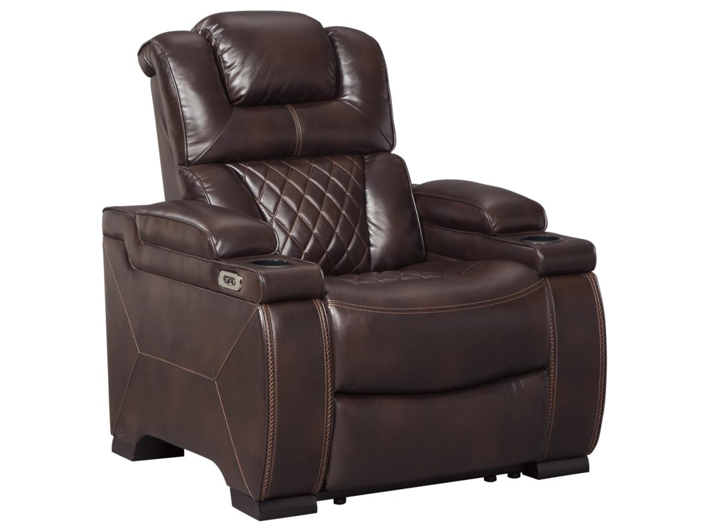 Signature Design by Ashley Warnerton4 Power Recliners with Adjustable Headrest