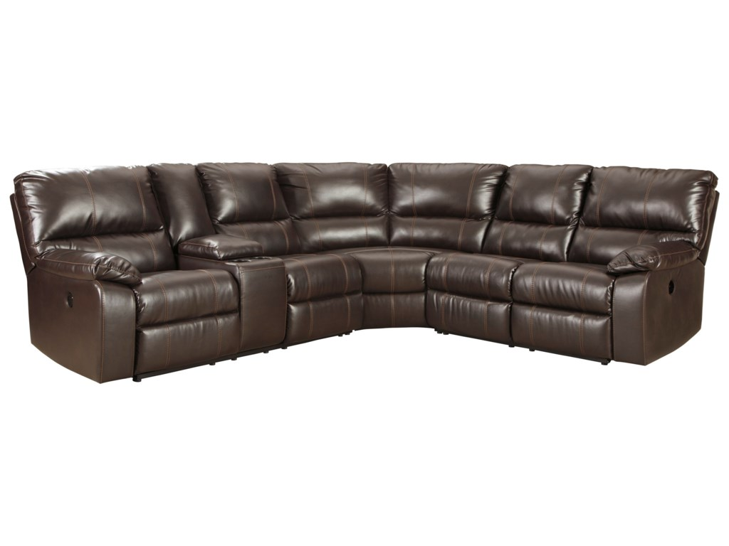 Signature Design by Ashley Warstein3 Piece Power Reclining Sectional