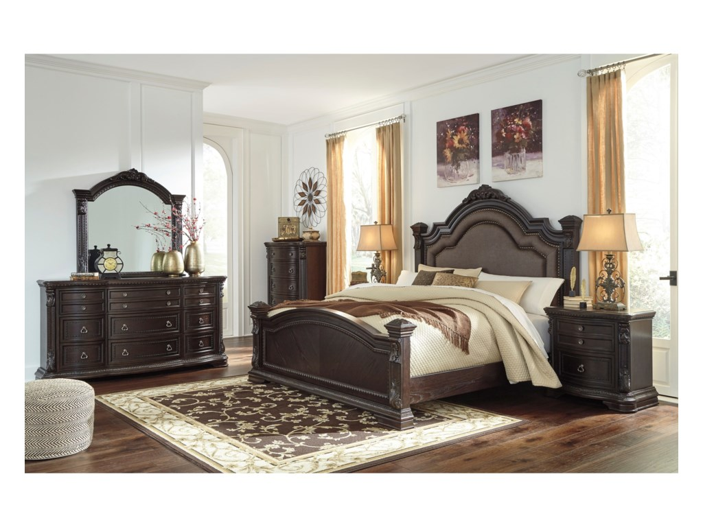 Signature Design by Ashley WellsbrookQueen Bedroom Group