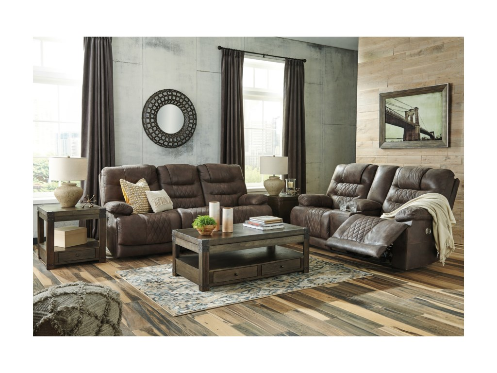Signature Design by Ashley WelsfordPower Reclining Sofa