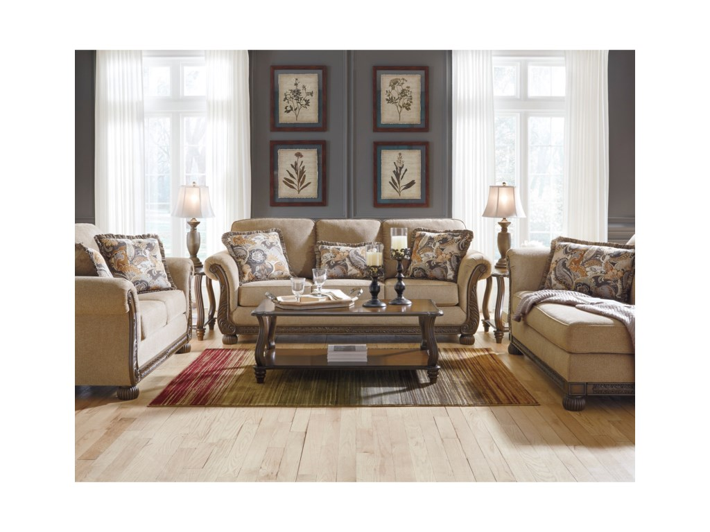Signature Design by Ashley WesterwoodStationary Living Room Group