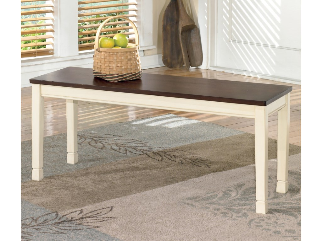 Signature Design by Ashley WhitesburgLarge Dining Room Bench