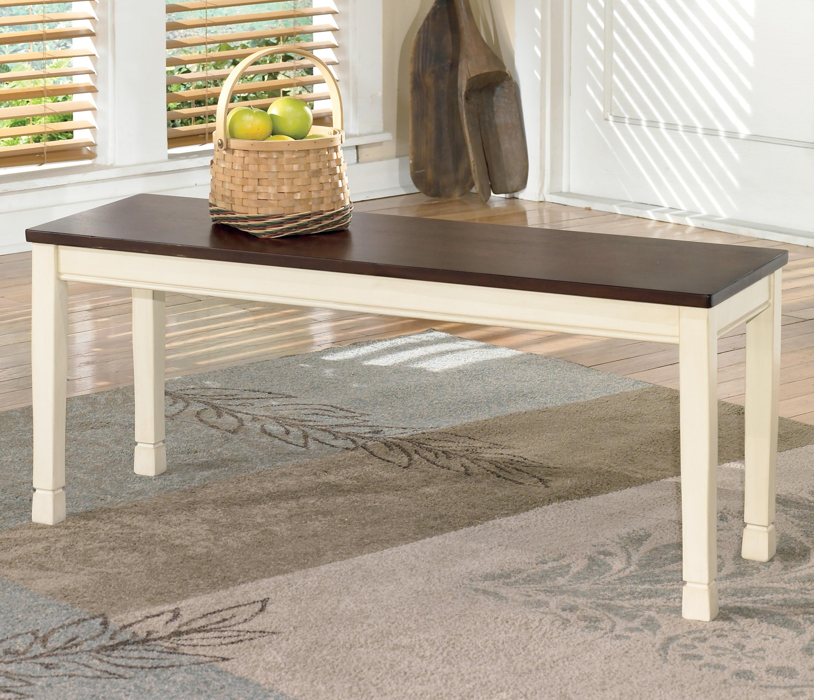 Signature Design By Ashley WhitesburgLarge Dining Room Bench ...