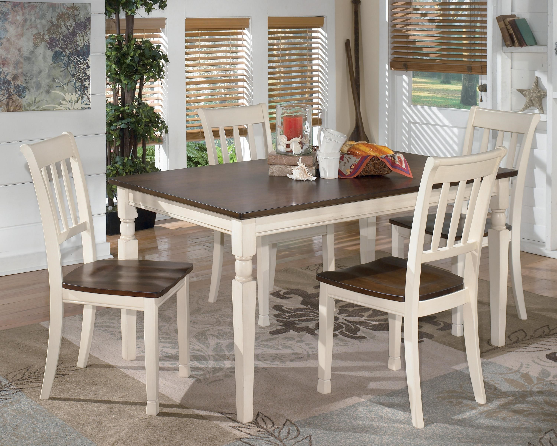 Lovely Signature Design By Ashley Whitesburg 5 Piece Rectangular Dining Table Set Part 28