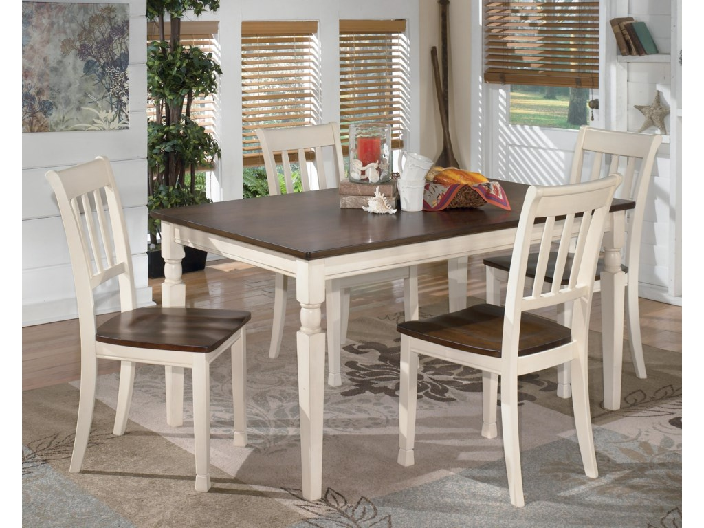 Signature Design by Ashley Whitesburg5-Piece Rectangular Dining Table Set