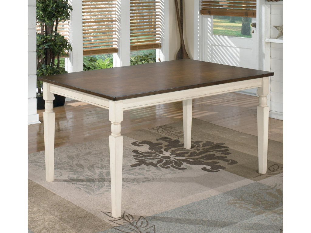 Signature Design by Ashley WhitesburgRectangular Dining Room Table