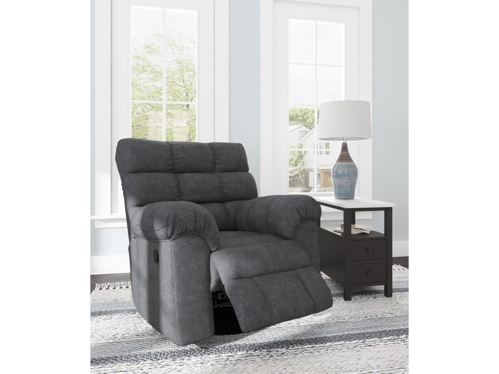 Signature Design by Ashley WilhurstSwivel Rocker Recliner