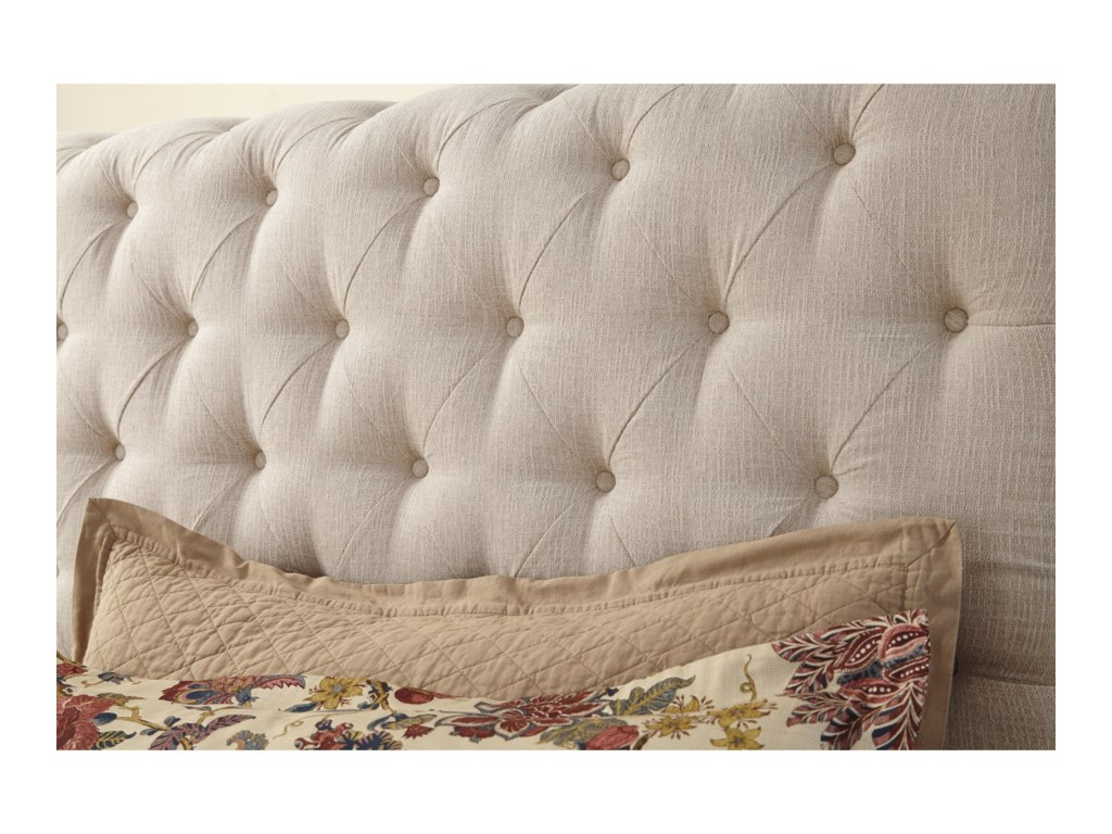 Signature Design by Ashley WillenburgQueen Upholstered Sleigh Bed