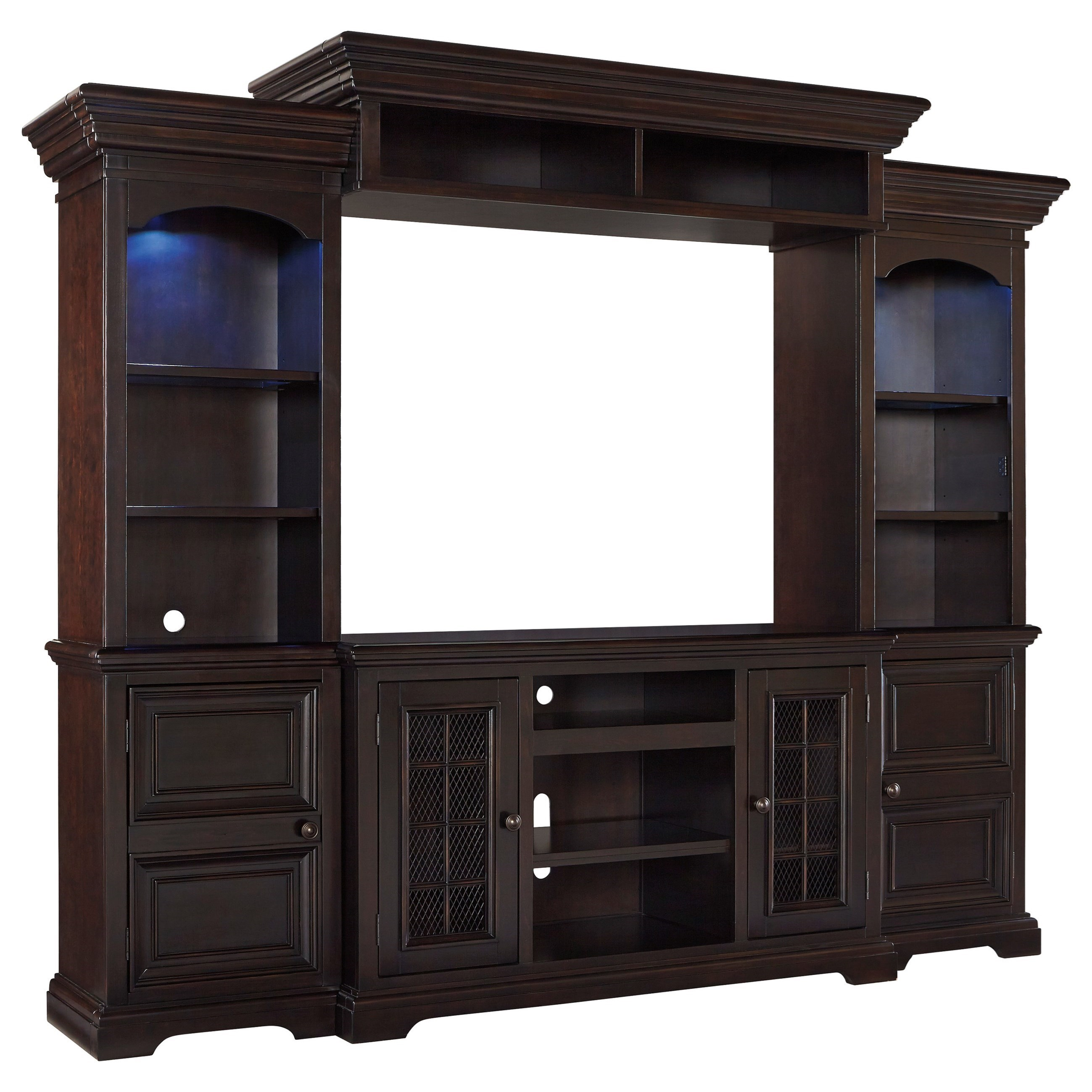 Signature Design By Ashley Willenburg 4 Piece Entertainment Center