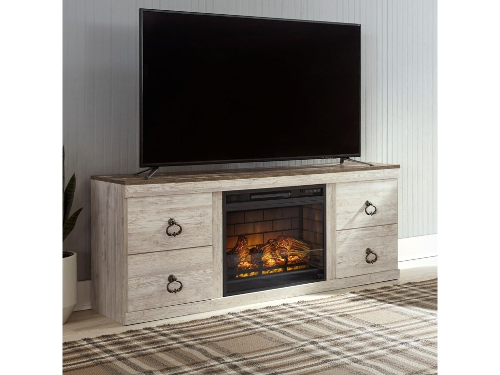Signature Design by Ashley WillowtonFireplace Console