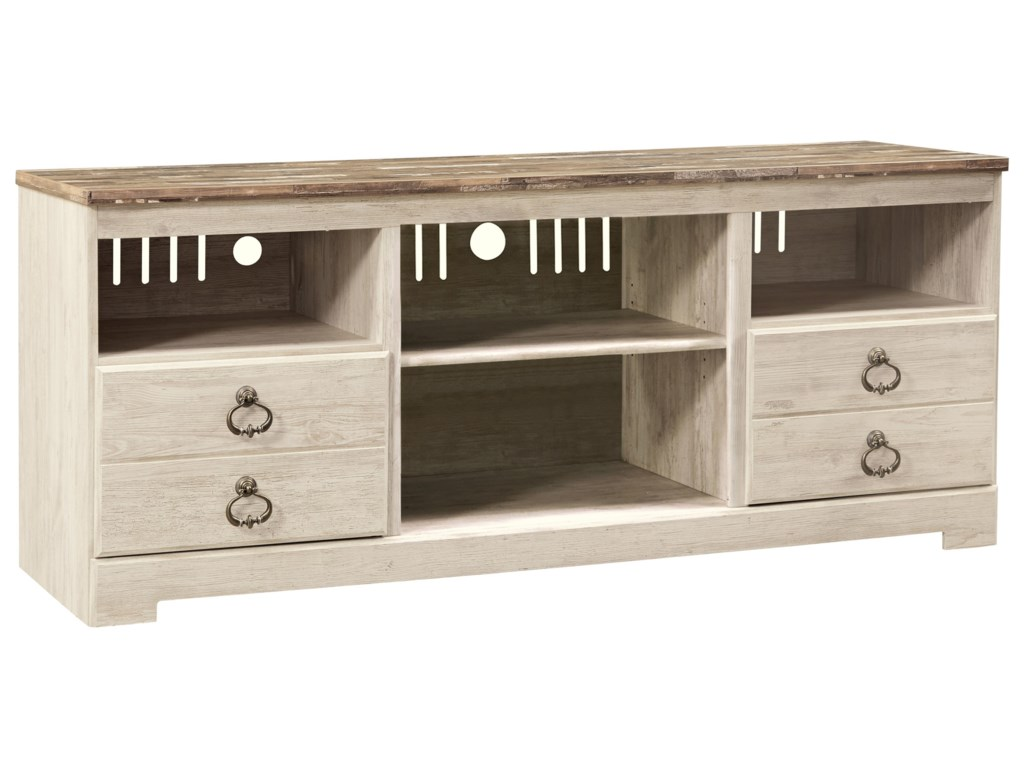 Ashley (Signature Design) WillowtonLarge TV Stand