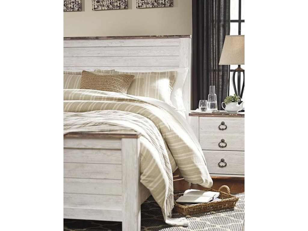 Signature Design by Ashley WillowtonQueen 5 Piece Bedroom Group