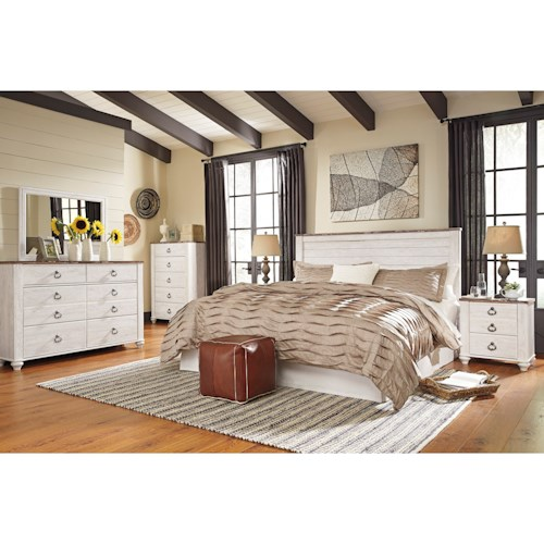 Ashley Furniture California: Signature Design By Ashley Furniture Willowton King