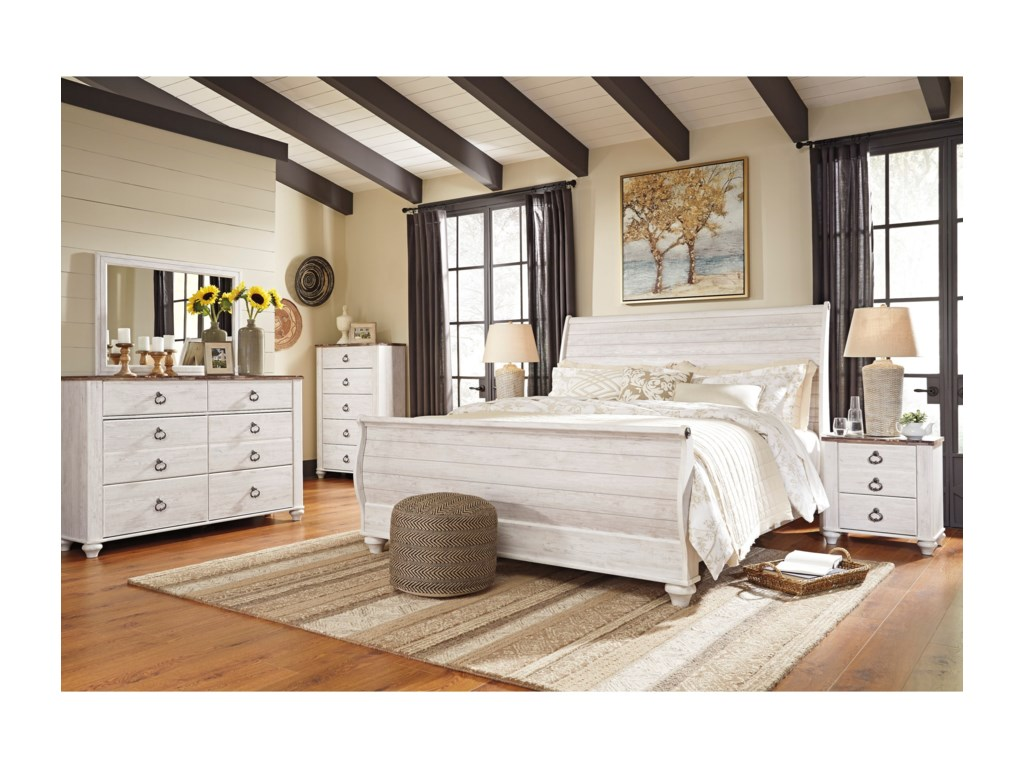 Signature Design by Ashley WillowtonKing Bedroom Group