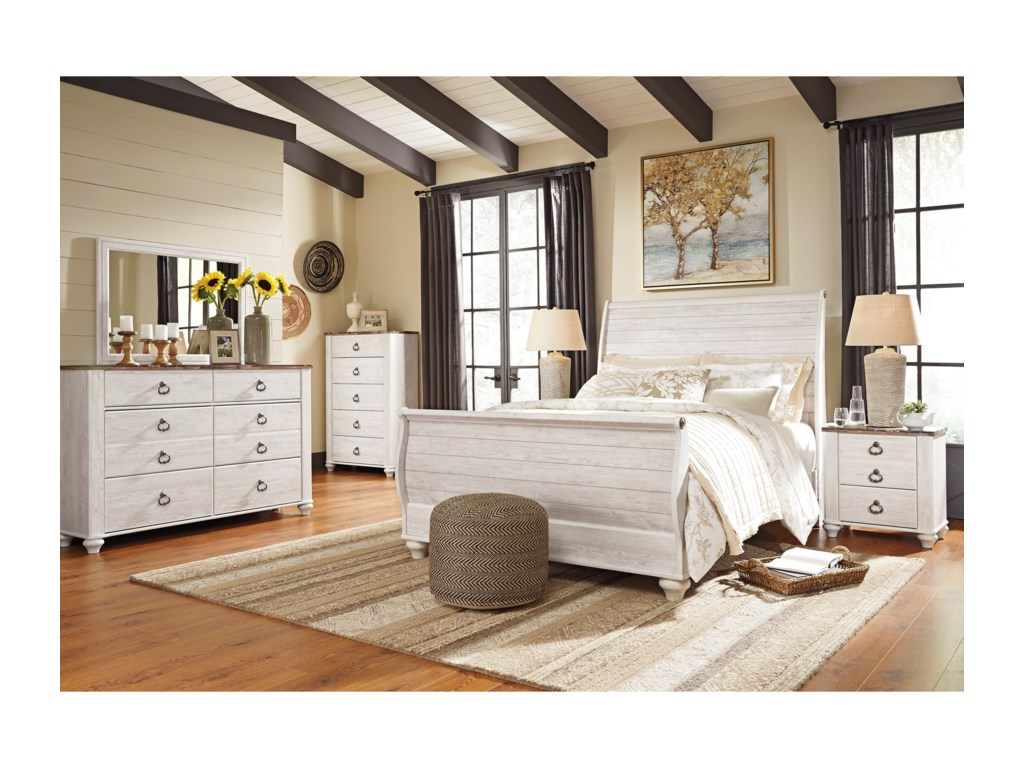 Signature Design by Ashley WillowtonQueen Bedroom Group
