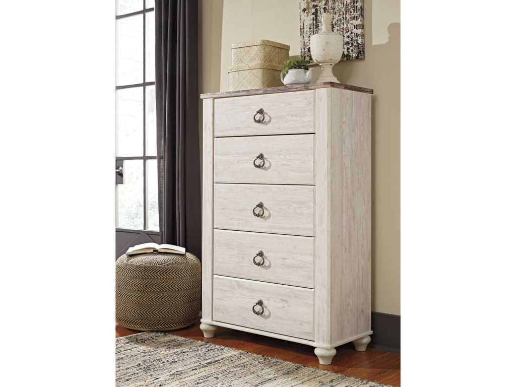 Signature Design by Ashley Willowton5-Drawer Chest