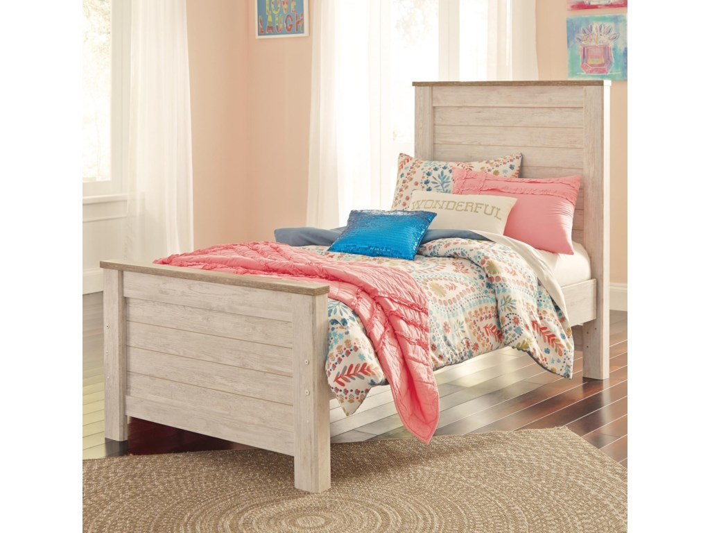 Signature Design by Ashley WillowtonTwin Panel Bed