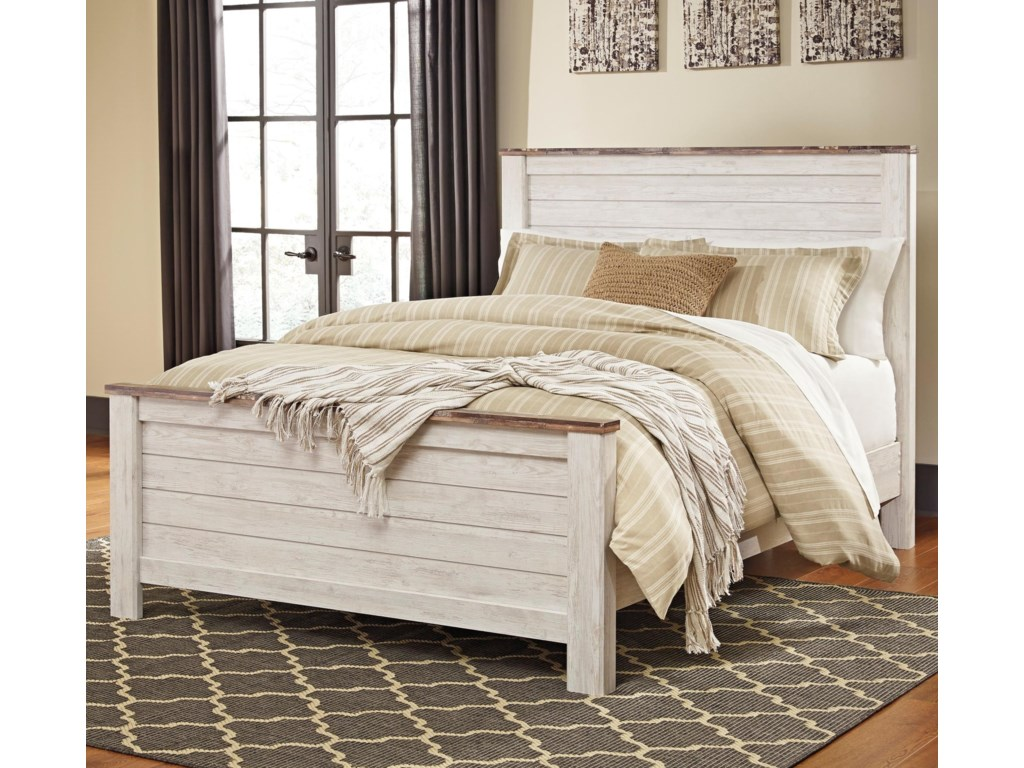 Signature Design by Ashley WillowQueen Panel Bed