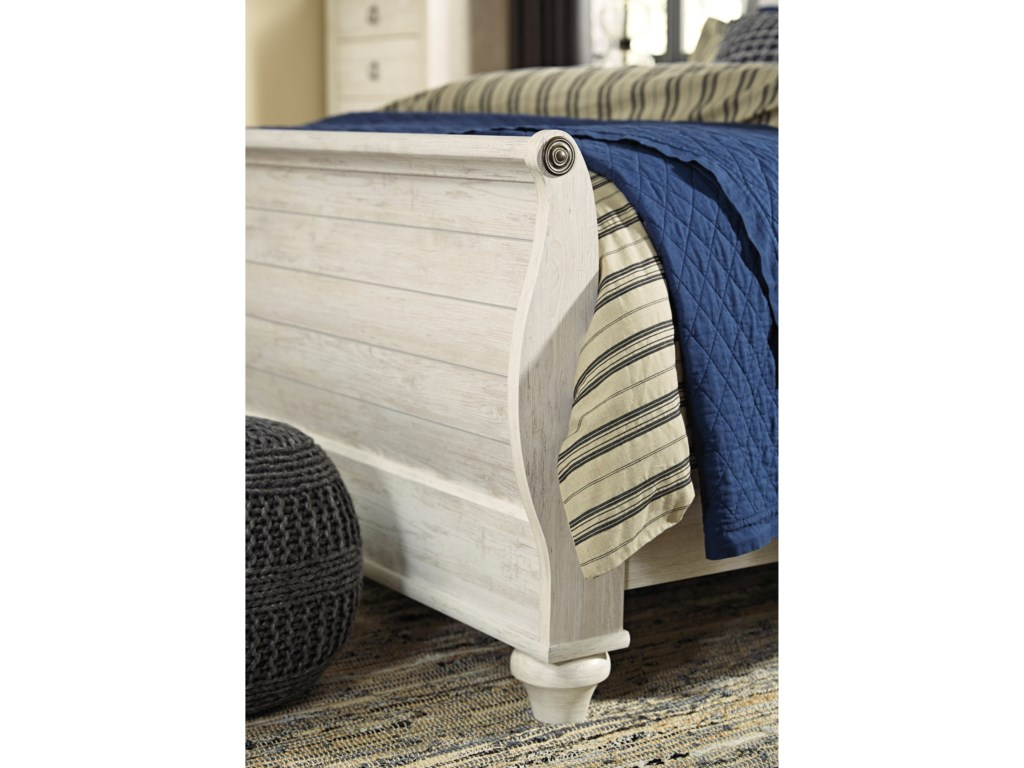Signature Design by Ashley WillowtonQueen Sleigh Bed