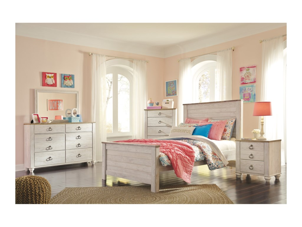 Ashley (Signature Design) WillowtonFull Panel Bed