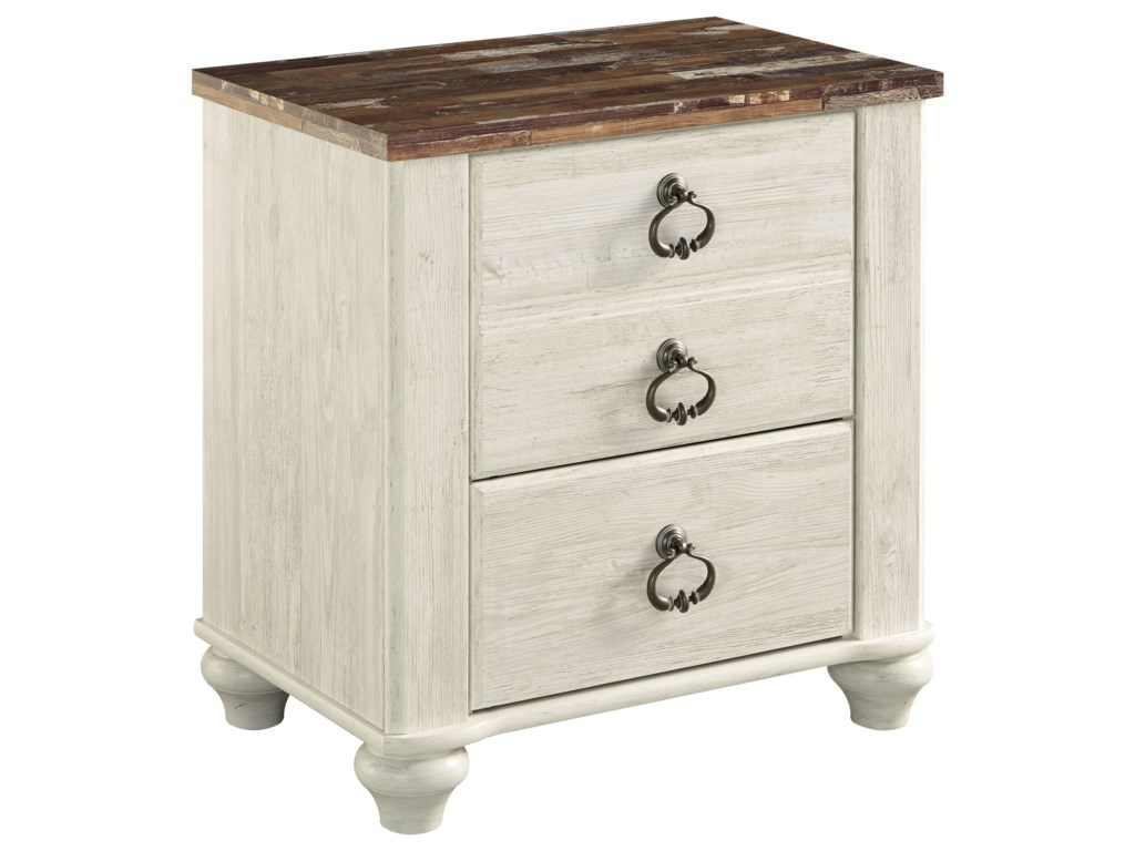 Signature Design by Ashley Willowton2-Drawer Nightstand