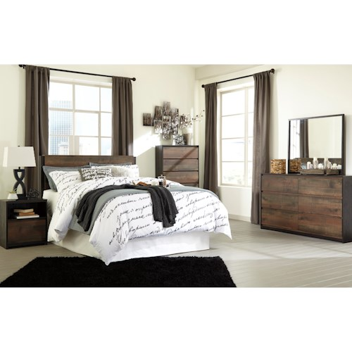 Signature Design by Ashley Windlore Queen Bedroom Group - Value ...