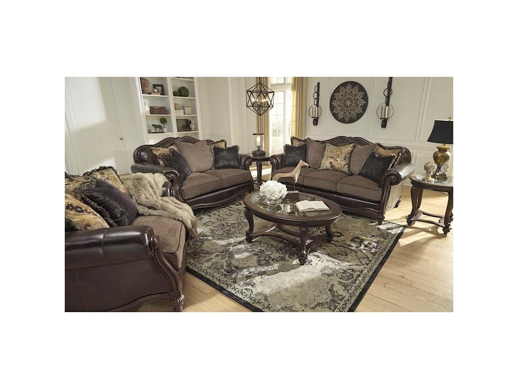 Ashley (Signature Design) Winnsboro DuraBlendStationary Living Room Group