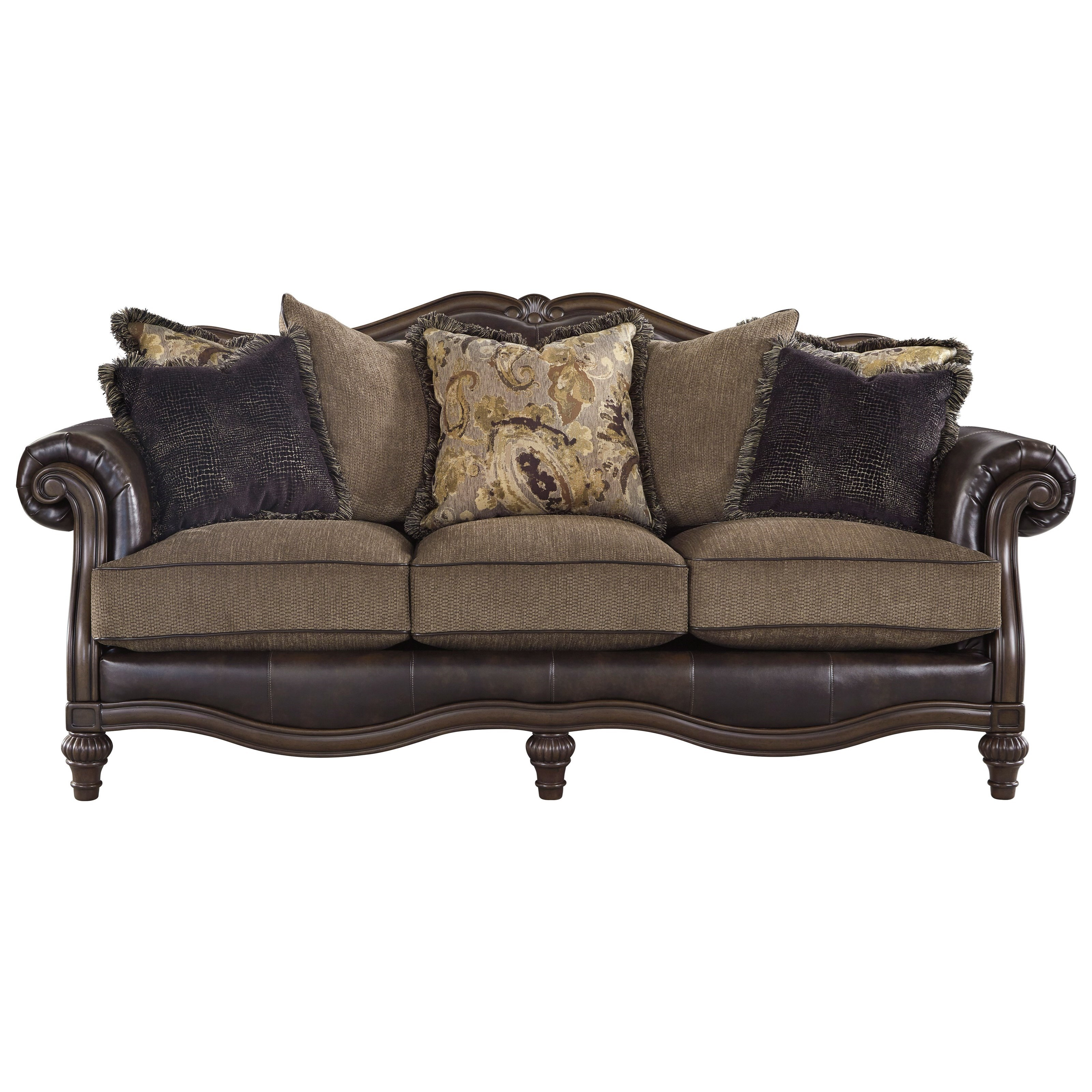 Signature Design by Ashley Winnsboro DuraBlendSofa ...