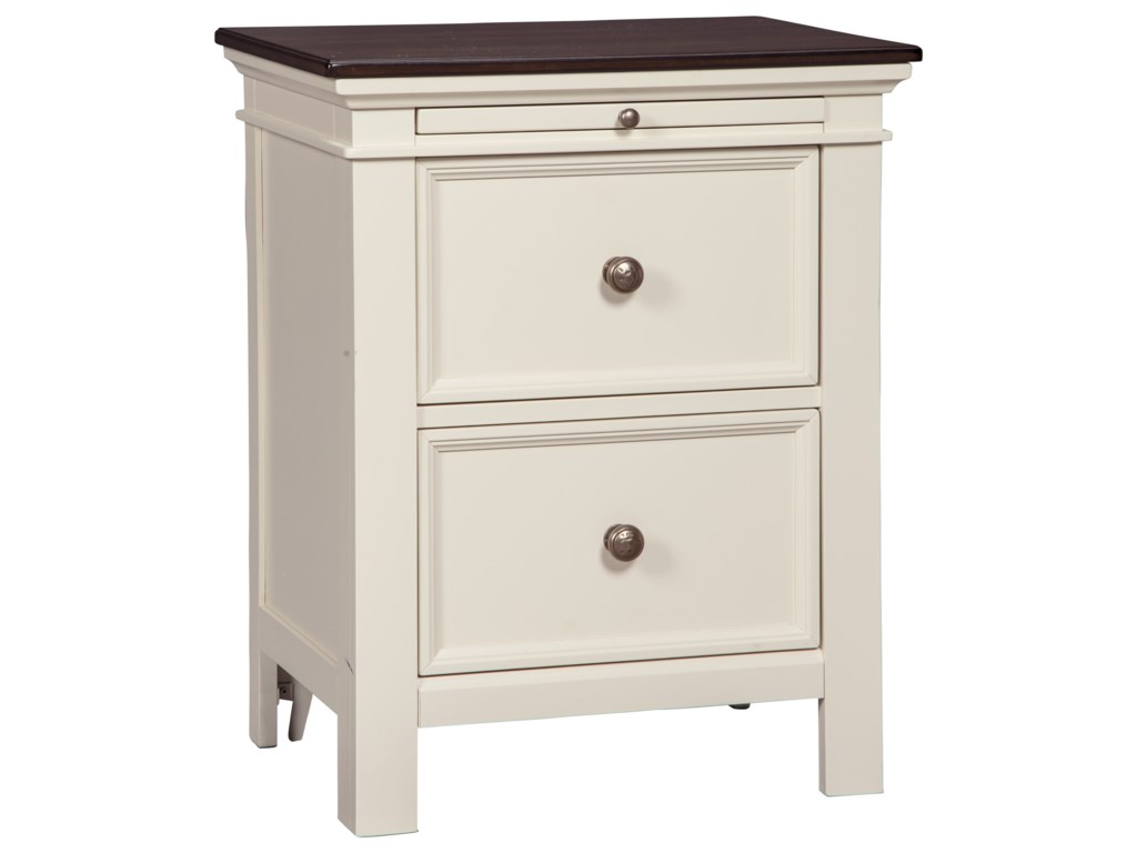 Signature design by ashley woodanvilletwo drawer night stand