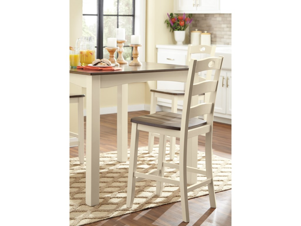 Signature Design by Ashley Woodanville5-Piece Square Counter Table Set