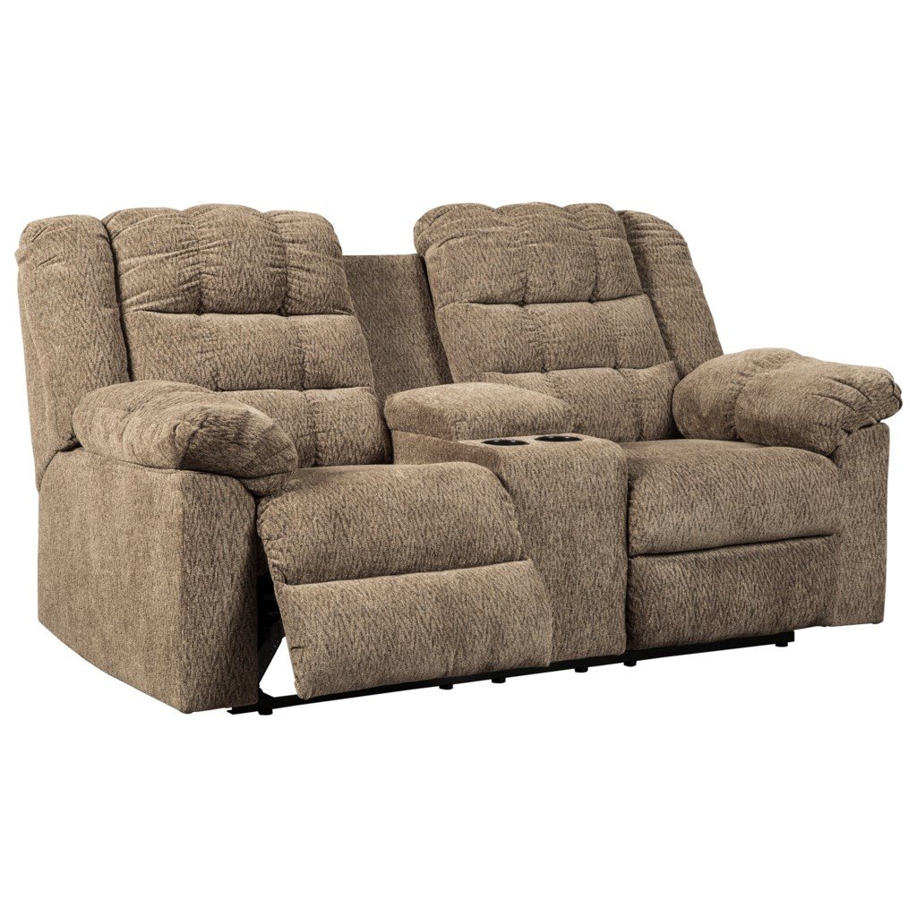 Signature Design By Ashley Workhorse 5840194 Casual Double Reclining