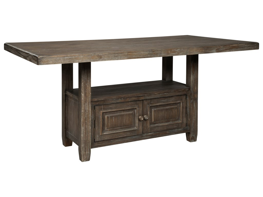 Signature Design by Ashley Wyndahl5-Piece Rect. Counter Table w/ Storage Set