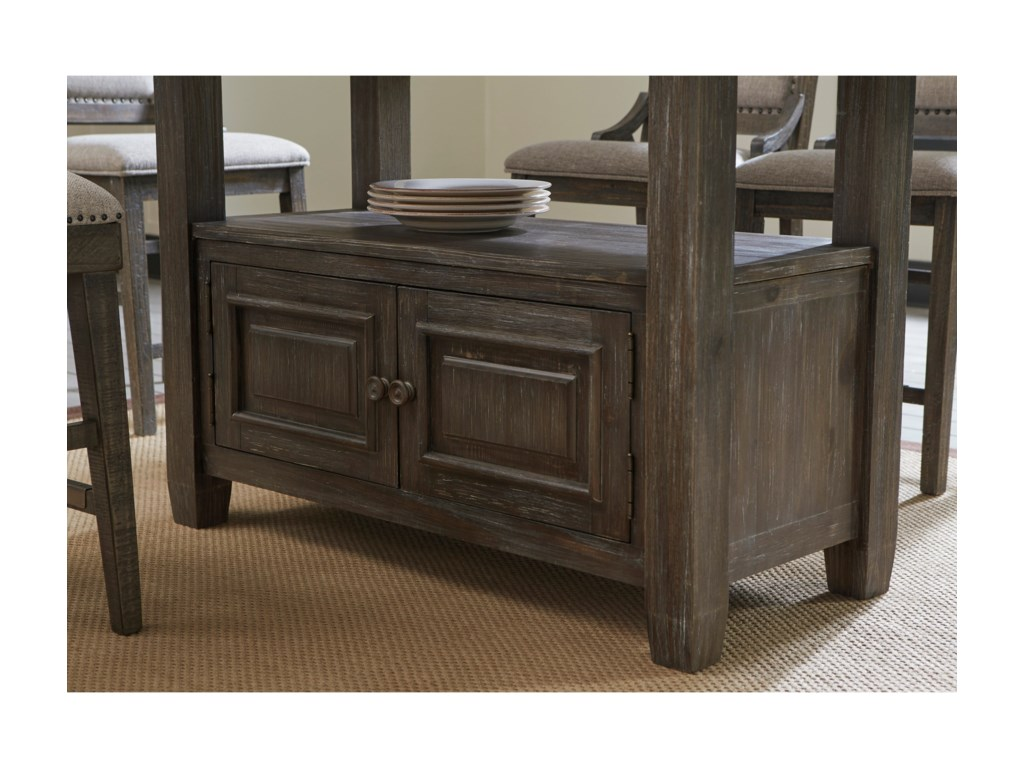 Signature Design by Ashley Wyndahl7-Piece Rect. Counter Table w/ Storage Set
