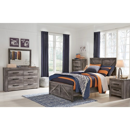 Signature Design by Ashley Wynnlow Full Bedroom Group