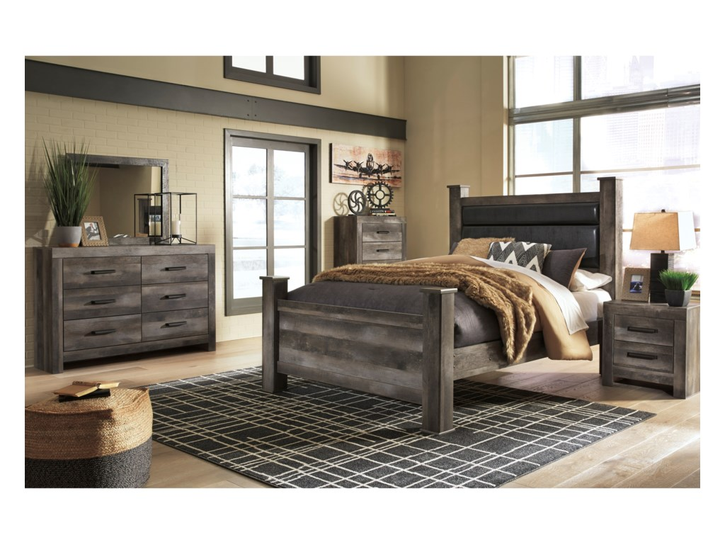 Ashley (Signature Design) WynnlowQueen Bedroom Group