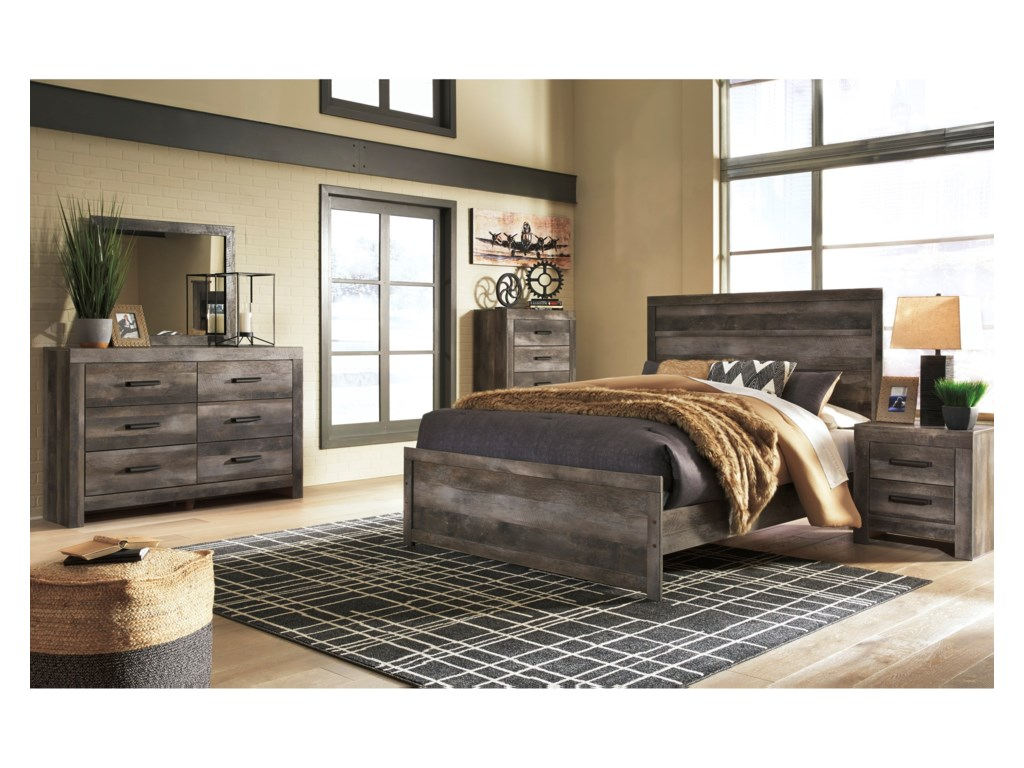 Signature Design by Ashley WynnlowQueen Bedroom Group