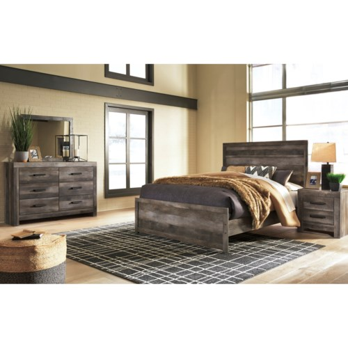 Bedroom Groups: Signature Design By Ashley Wynnlow Queen Bedroom Group