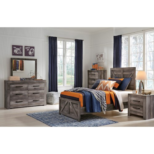 Signature Design by Ashley Wynnlow Twin Bedroom Group