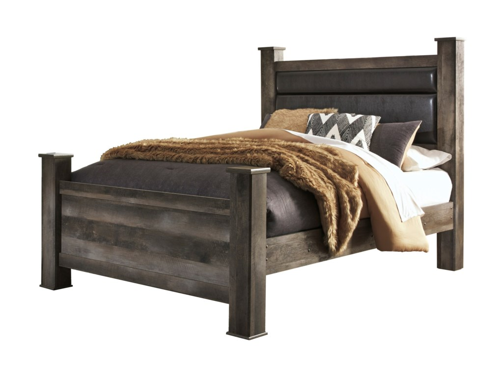 Signature Design by Ashley WynnlowQueen Poster Bed