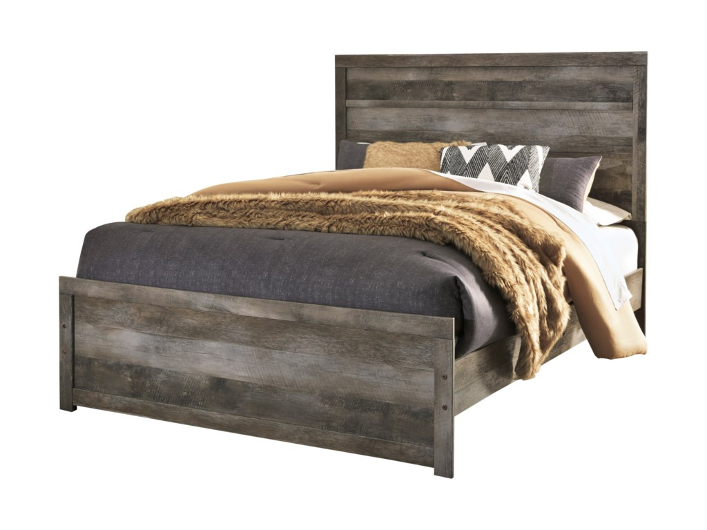 Signature Design by Ashley WynnlowQueen Panel Bed