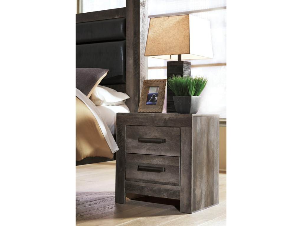 Signature Design by Ashley Wynnlow2-Drawer Nightstand