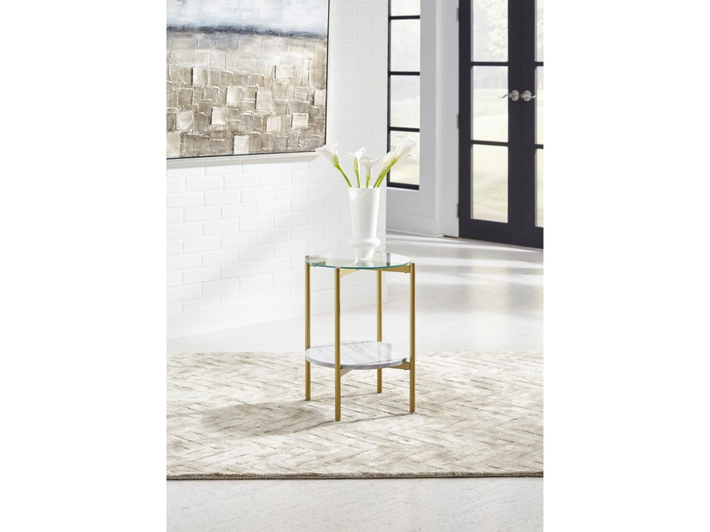 Signature Design by Ashley WynoraRound End Table
