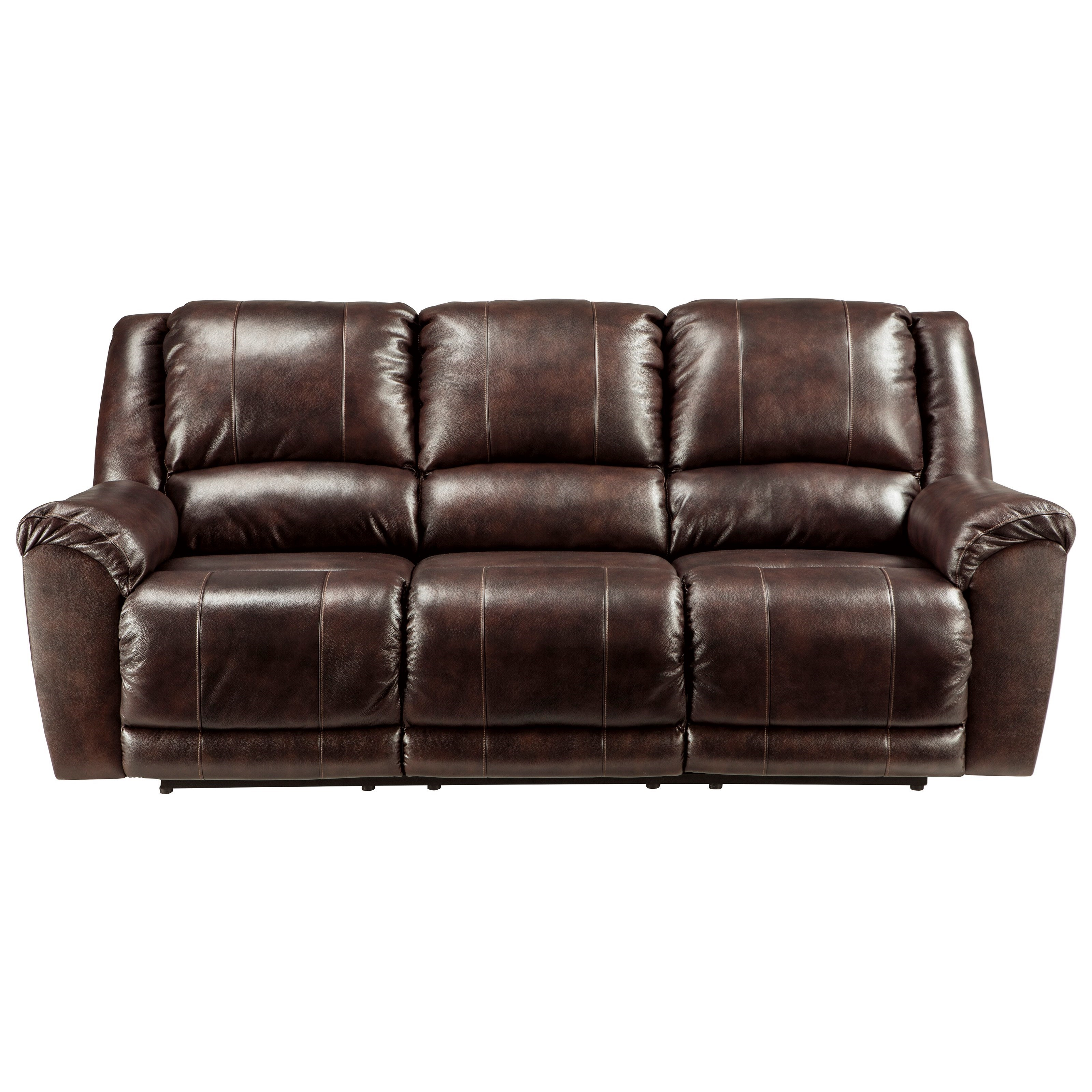 Signature Design By Ashley Furniture Yancy Leather Match Reclining
