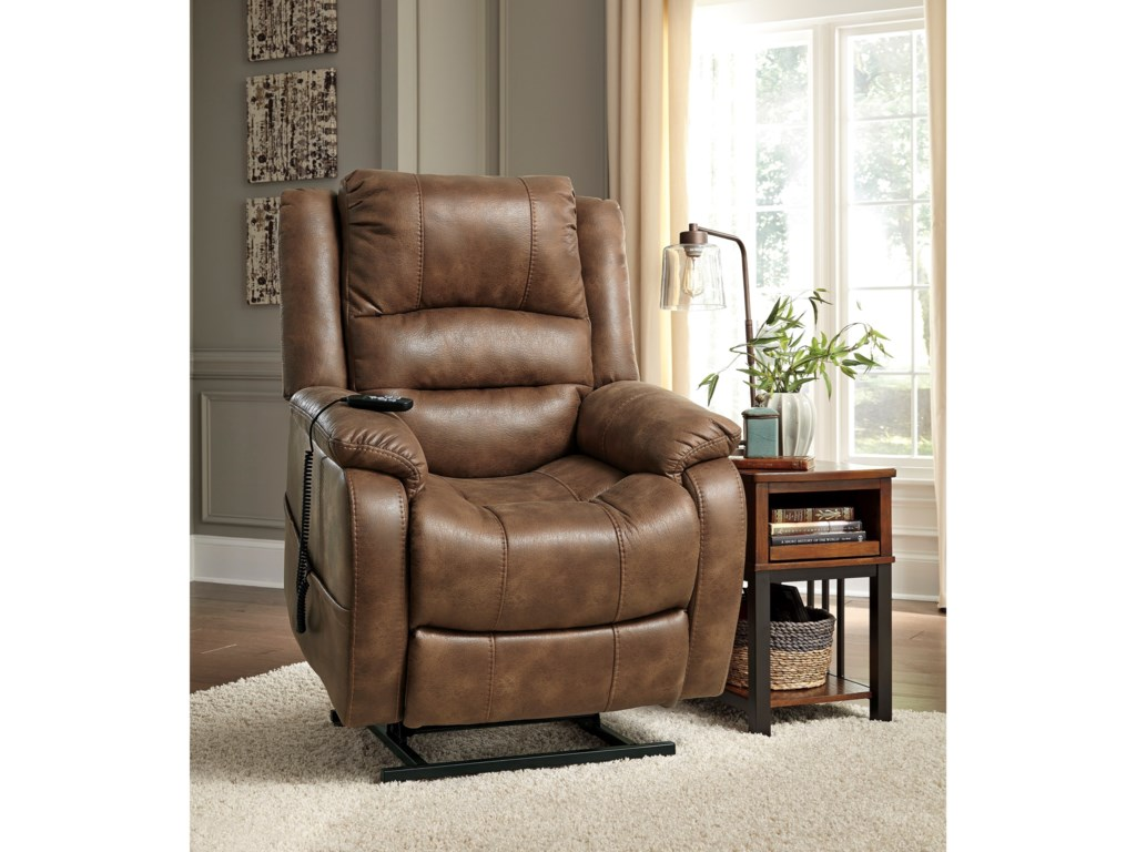 Signature Design by Ashley YandelPower Lift Recliner